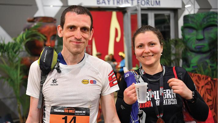 """Miķelis Zumbergs un Linda Beldava piedalās """"Tarawera 100 Mile Endurance Run"""" Jaunzēlandē."""