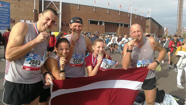 Pievarēts Amsterdamas maratons