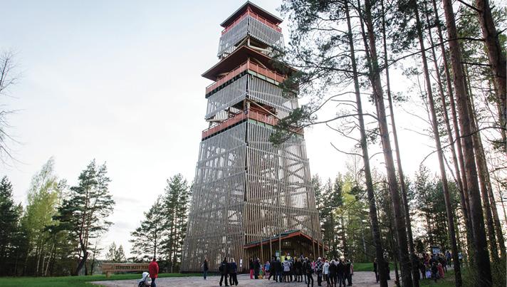 Stirnubuks.lv - Latvijas valsts mežu dabas parks Tērvetē
