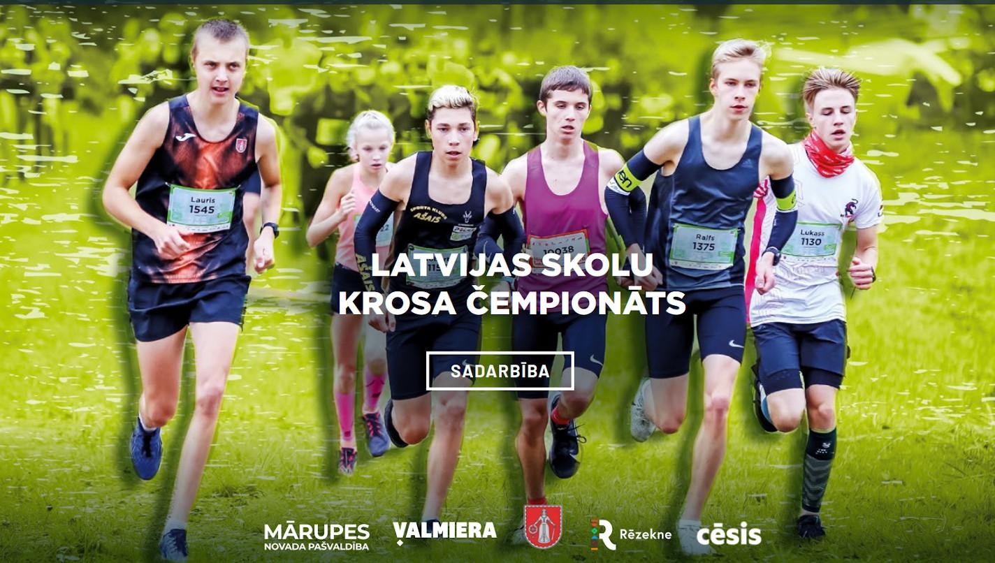 Stirnubuks.lv - Latvijas Skolu krosa čempionāts – pavisam drīz!