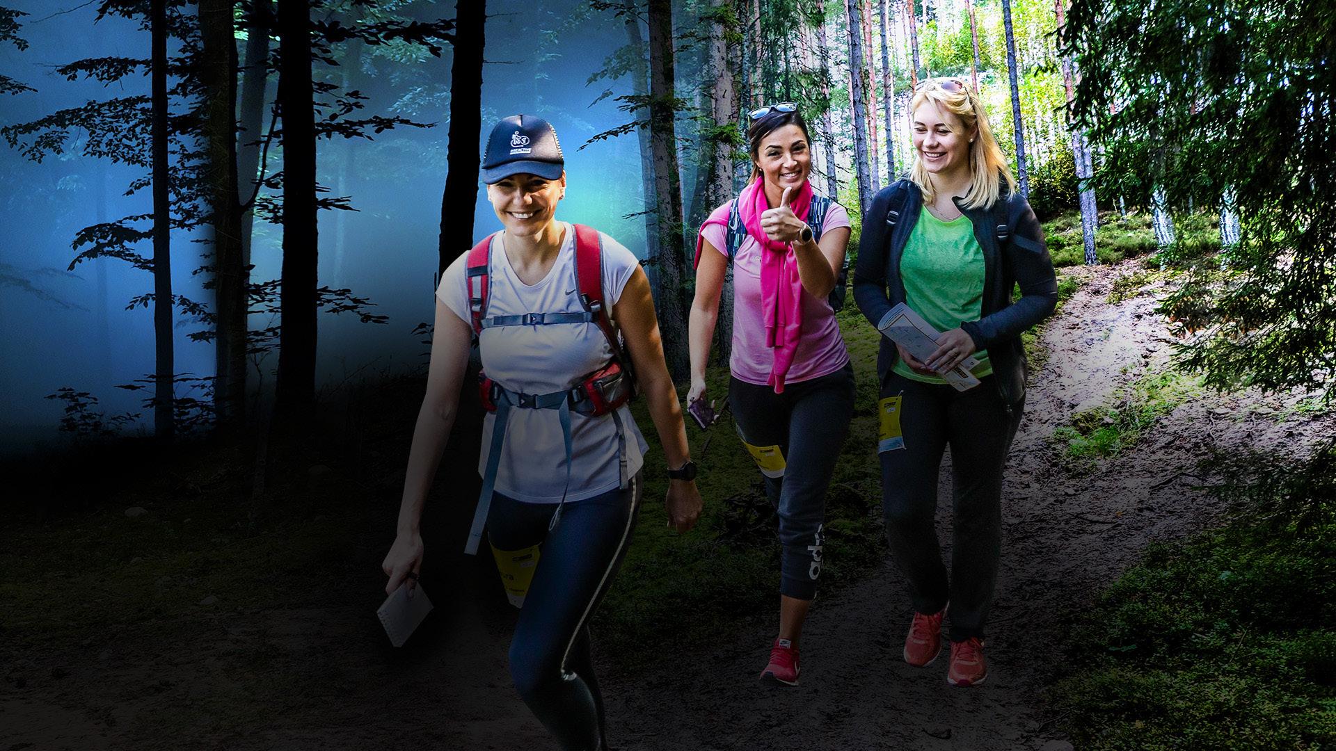 Stirnubuks.lv - Sākusies reģistrēšanās #BeActive pārgājienam ar nakts posmu Vilkaču mežā